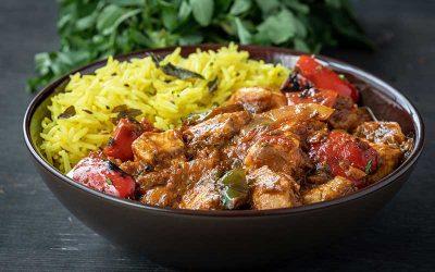 Chicken & Roasted Vegetable Jalfrezi