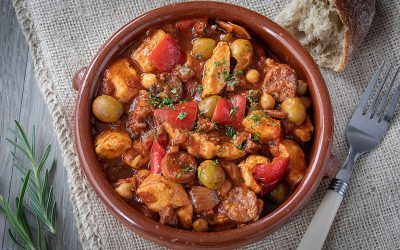 Catalan Style Chicken Stew