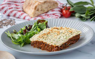 Lentil & Sage Lasagne