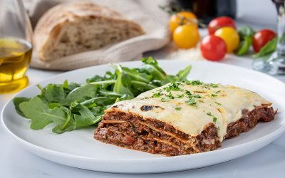 Beef Lasagne With Chianti