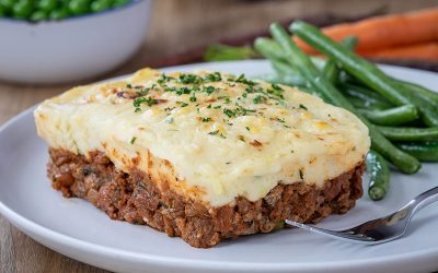 Cottage Pie with Horseradish Mash