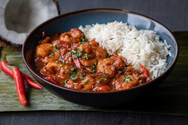 Goan Style Piri Piri Prawn Curry