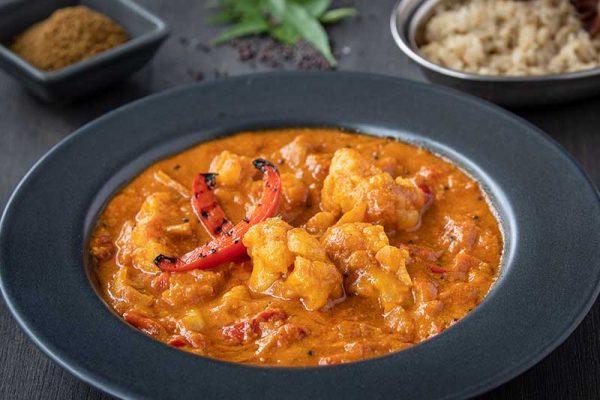 Keralan Red Pepper & Cauliflower Curry