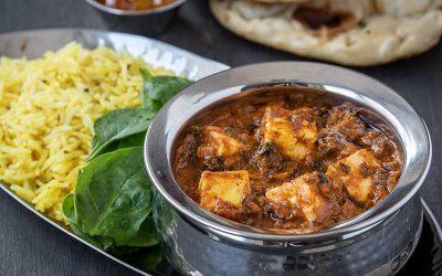 Paneer & Palak Curry