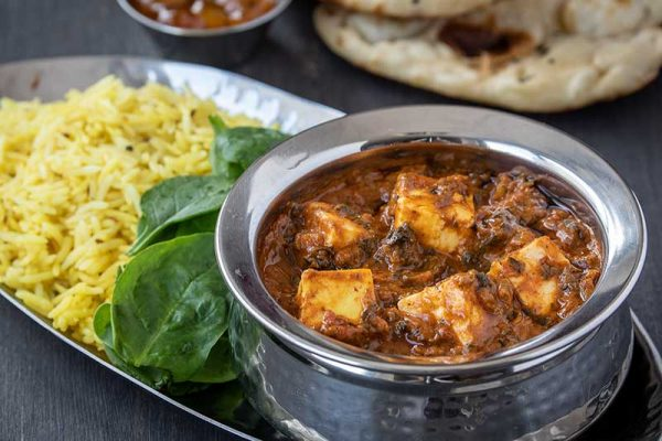 Paneer-&-Palak-Curry