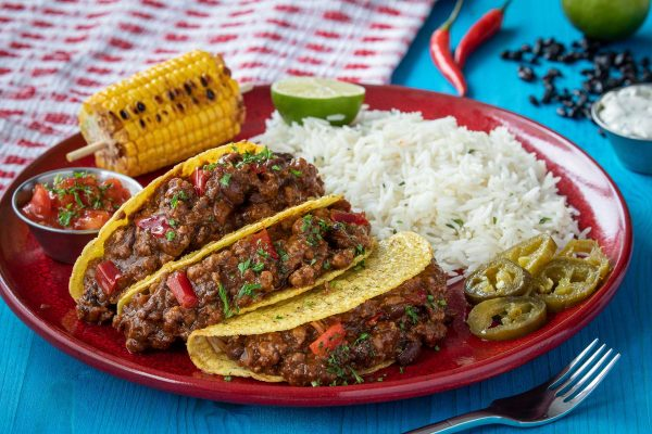 Frozen Mexican, Caribbean & American Ready Meals